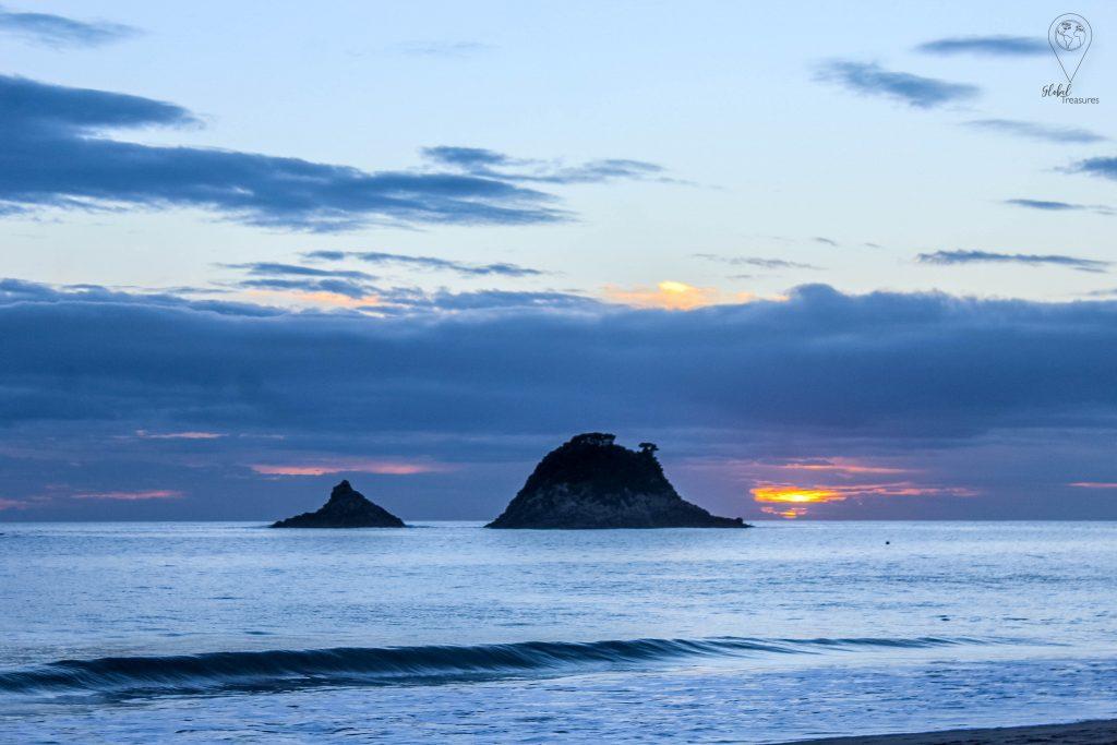 zonsopgang Hahei - Nieuw-Zeeland | Global-Treasures.com