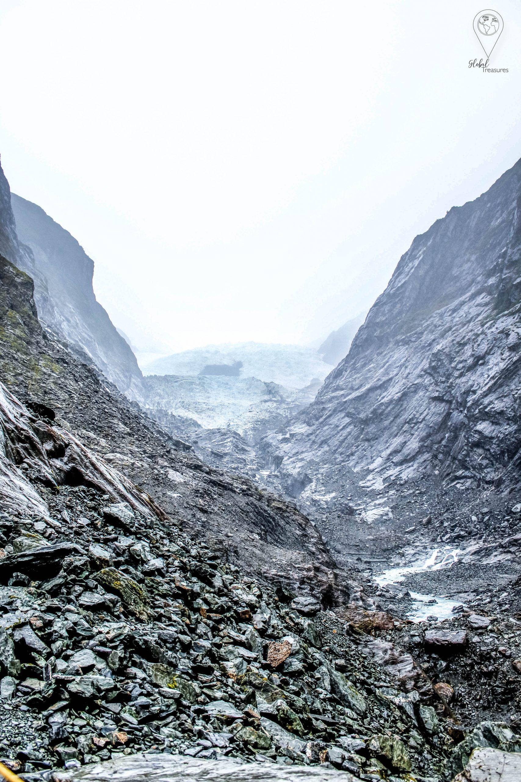 Fox Glacier, Franz Josef - Nieuw-Zeeland   Global-Treasures.com