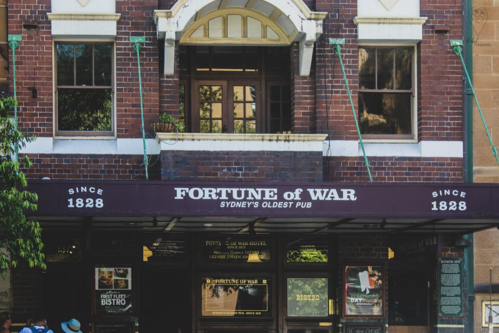 Fortune of War Sydney, Australia   Global-Treasures.com