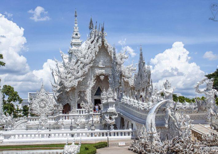 White temple Chiang Rai, Thailand | Global-Treasures.com