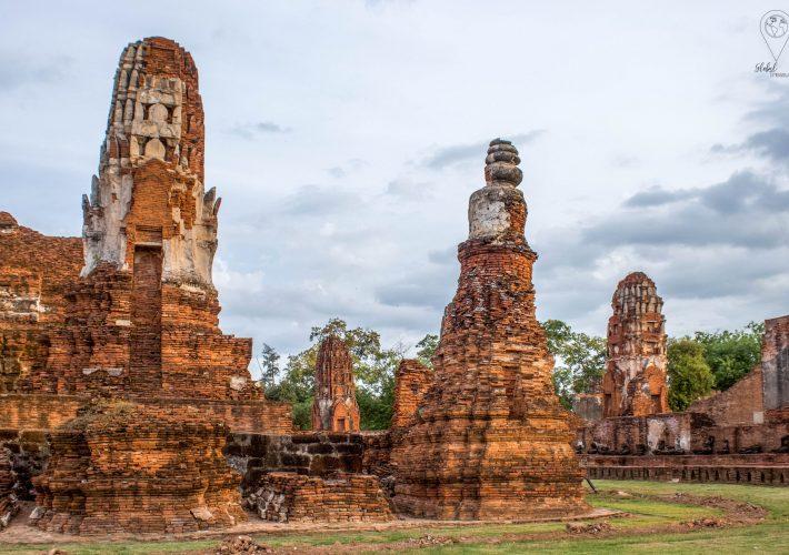 Tempels in Ayutthaya, Thailand | Global-Treasures.com