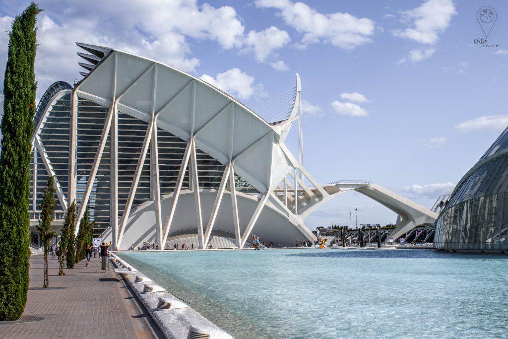 Ciudad de las Artes y Ciencias Valencia, Spanje | Global-Treasures.com
